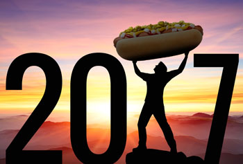 Ball Park® Buns' 2017 New Year's Resolutions