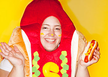 Can You Make Your Own Hot Dog Costume? Yes. Yes, You Can.