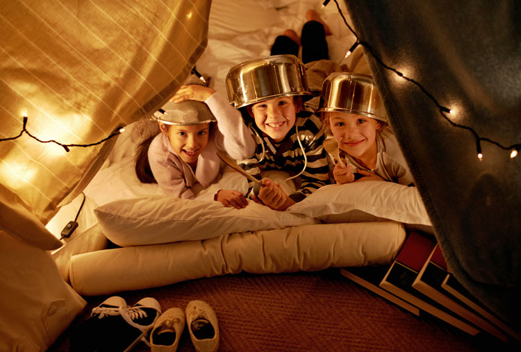 Five ways to bring the campout in