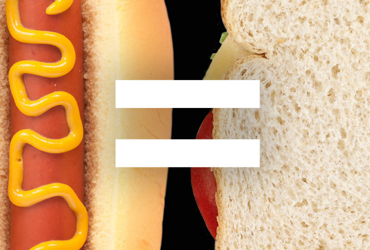 The hot dog is definitely a sandwich, and here's why